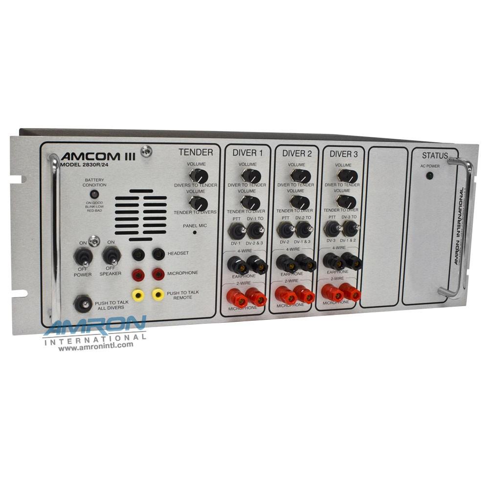 Amron International 3 Diver Standard Rack Mount Communicator
