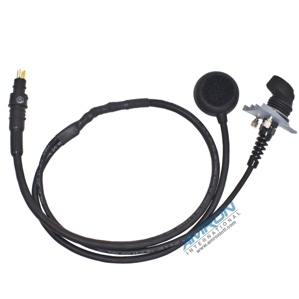 Amron 1406A Bone Conducting Earphone Microphone Assembly