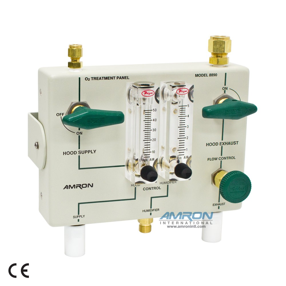 Amron International Hyperbaric 8890 Oxygen Treatment Panel
