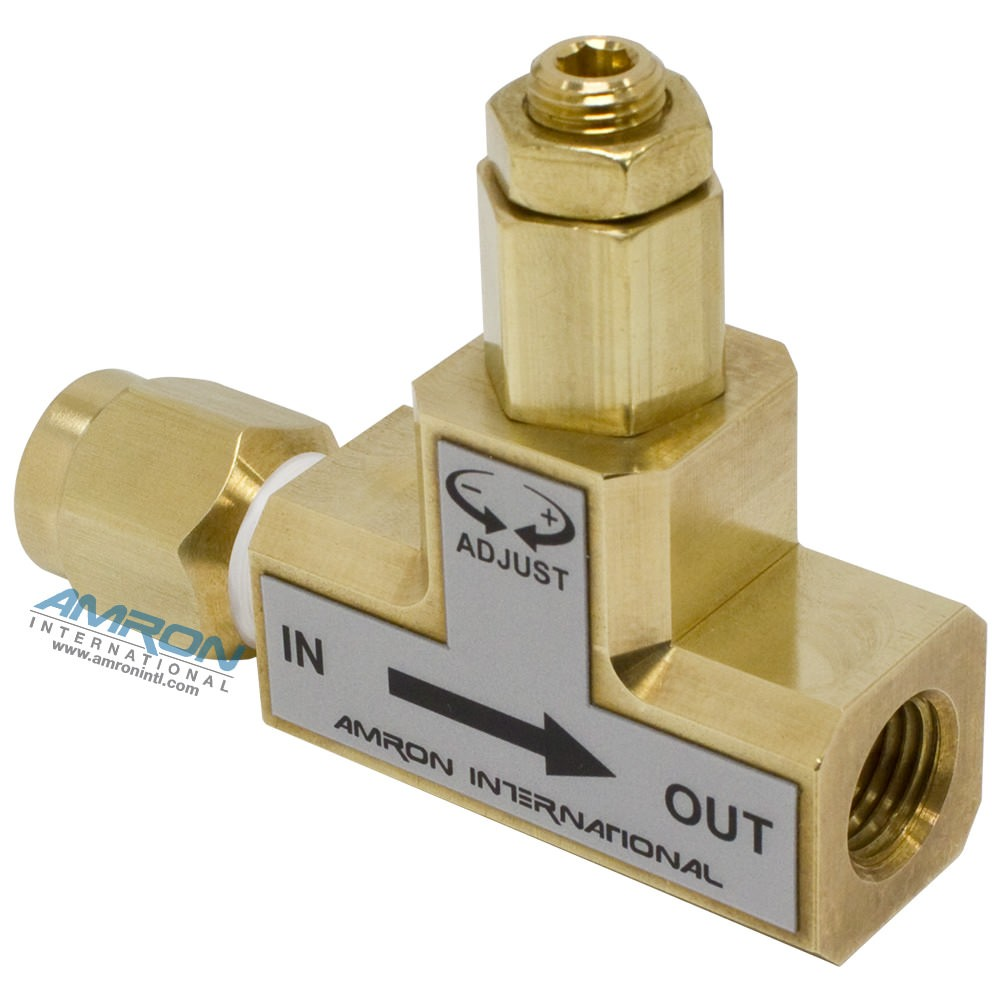 Amron Inline Pressure Limiting Valve - 150-500 PSI - Set at 250 psi