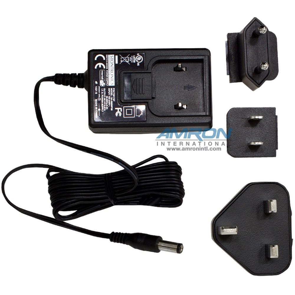 Analox ADM Aspida Panel Mount Oxygen/Carbon Dioxide (O2/CO2) Monitor - Universal AC/DC Mains Adapter ADMABCDEPG01X