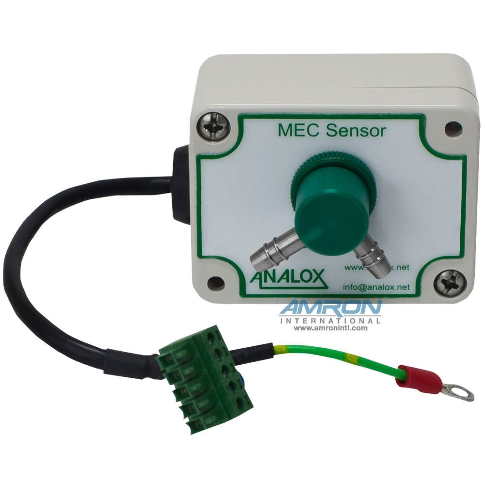 Analox OEM MEC Oxygen (O2), 0-100% in N2, 150mm Lead, Plastic Enclosure MECO2ABBP
