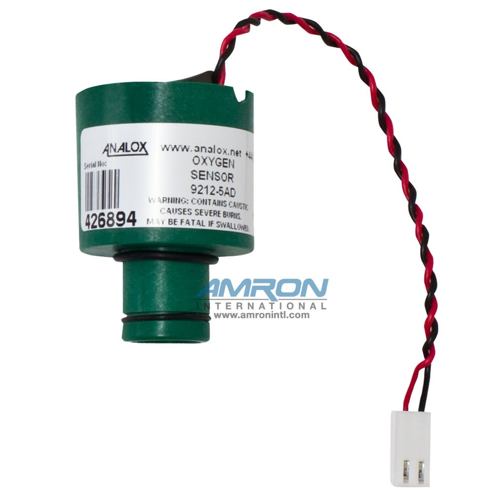 Analox Replacement Oxygen (O2) Sensor for the Portable Oxygen (O2) Monitor 9100-9212-5AD