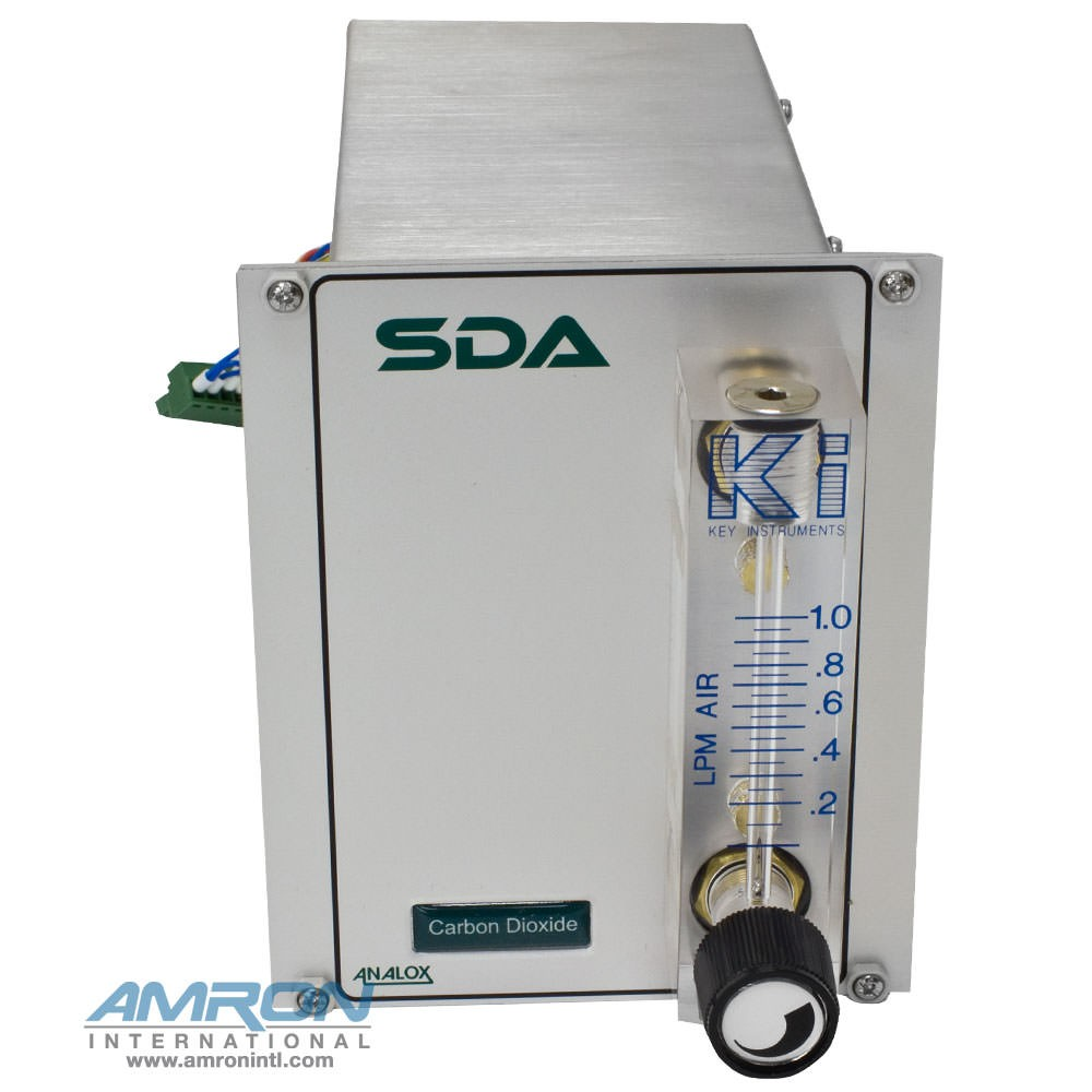 Analox SDAPBBNXA SDA CO2 Monitor - Panel Mount - 0 to 5000 ppm in N2