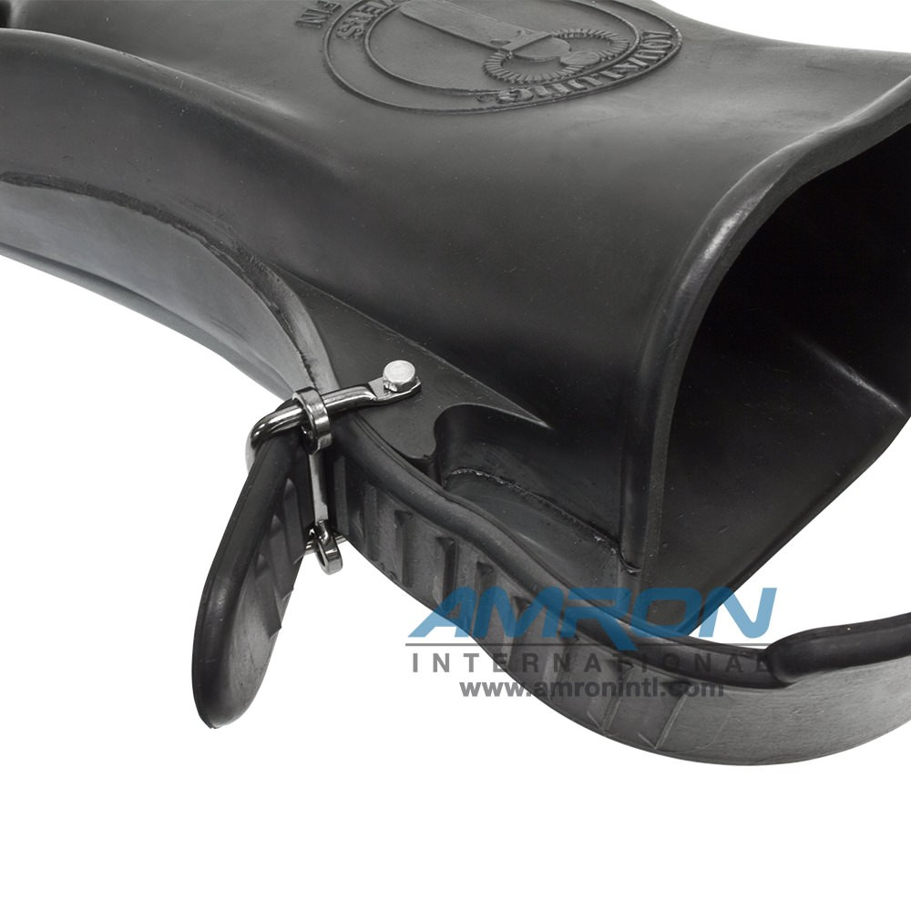 Aqua Lung Rocket Fins with Metal Buckles - Large (Size 8-10) 6211-00
