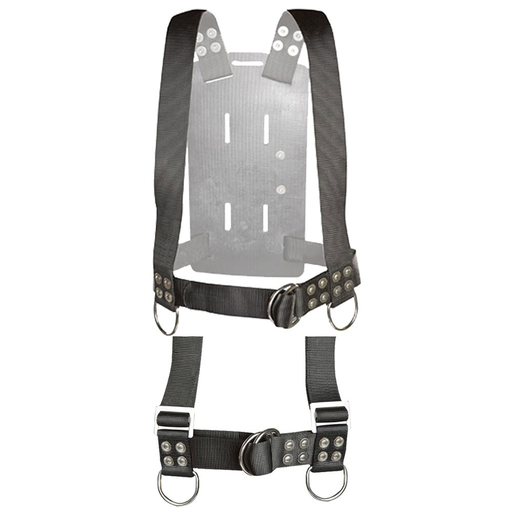 Atlantic Diving Equipment Backpack with Shoulder Adjusters Medium BP-400-SA-M - Front