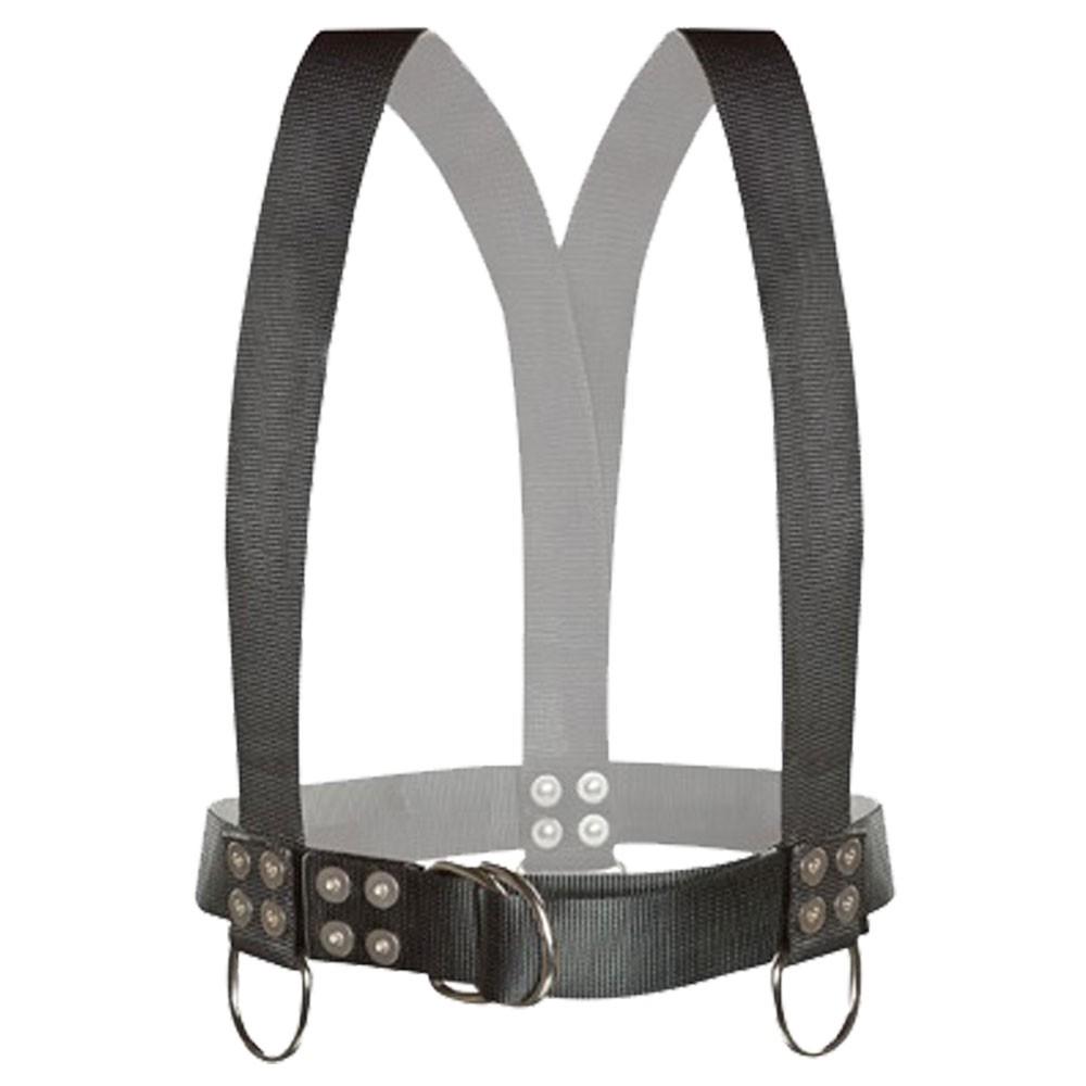 Atlantic Diving Equipment Diving Safety Harness w/ Shoulder Adjusters - Large SH-100-SA-L
