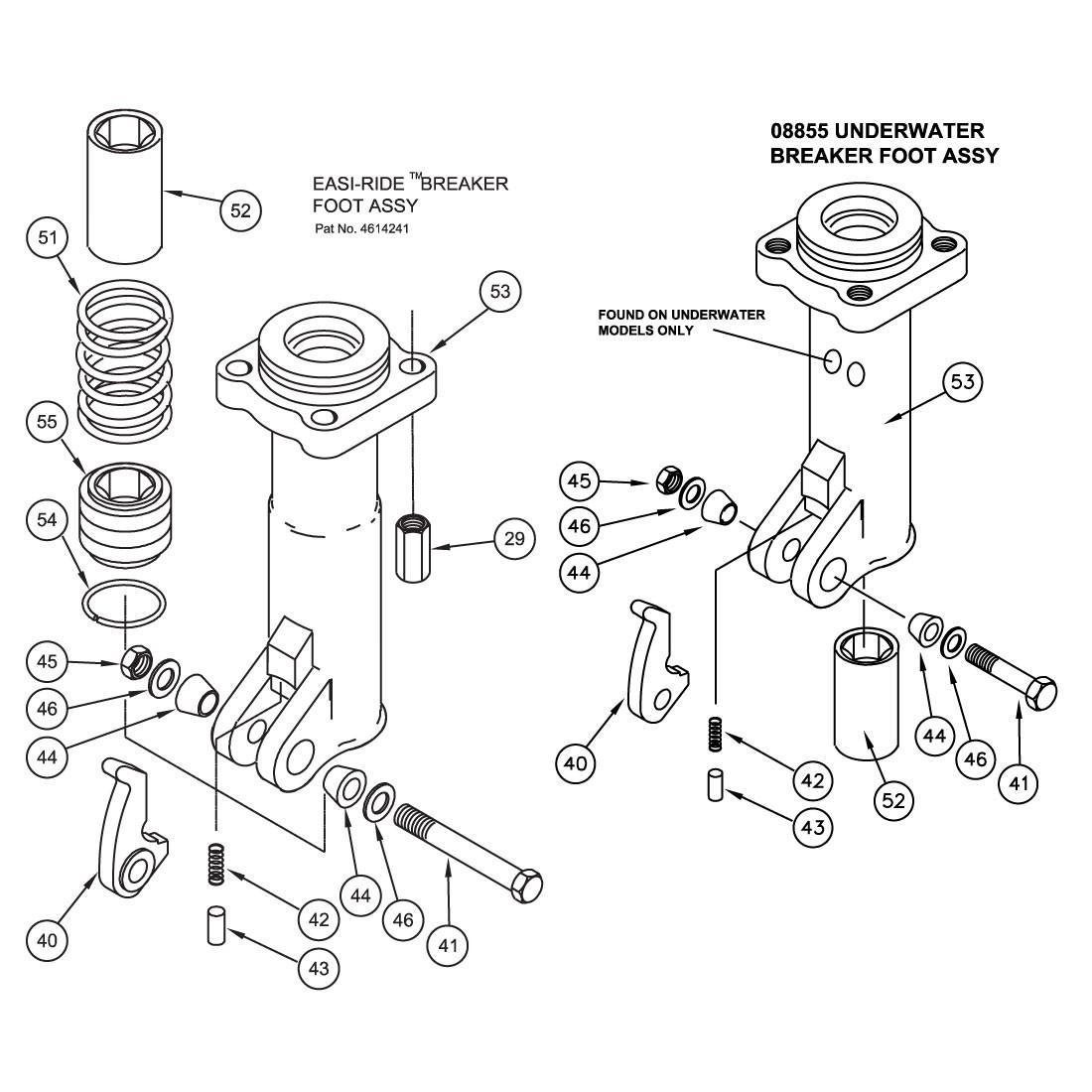 Stanley BR87 Foot Parts Illustration