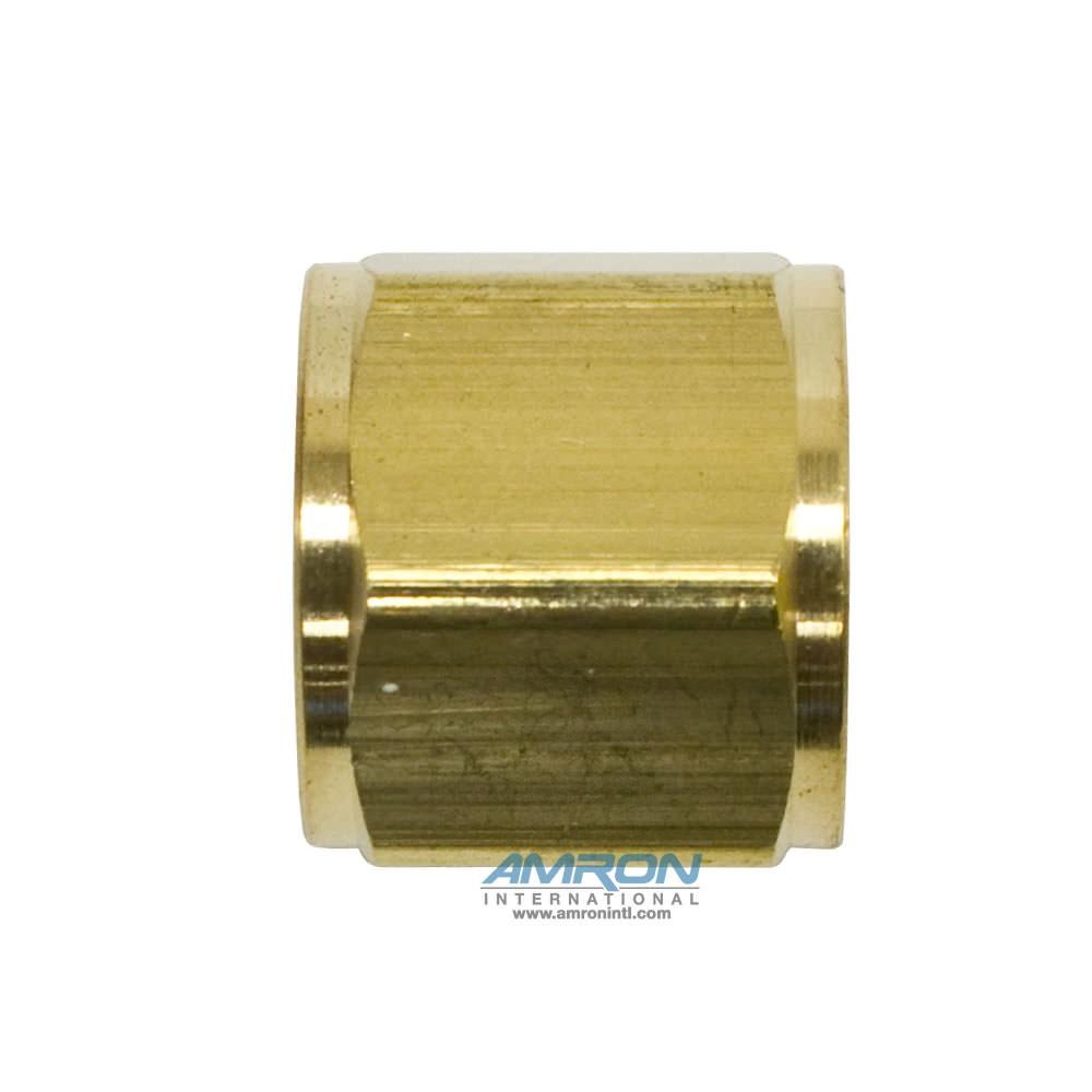 O2 Hose Nut 9/16-18 inch RH Brass N20