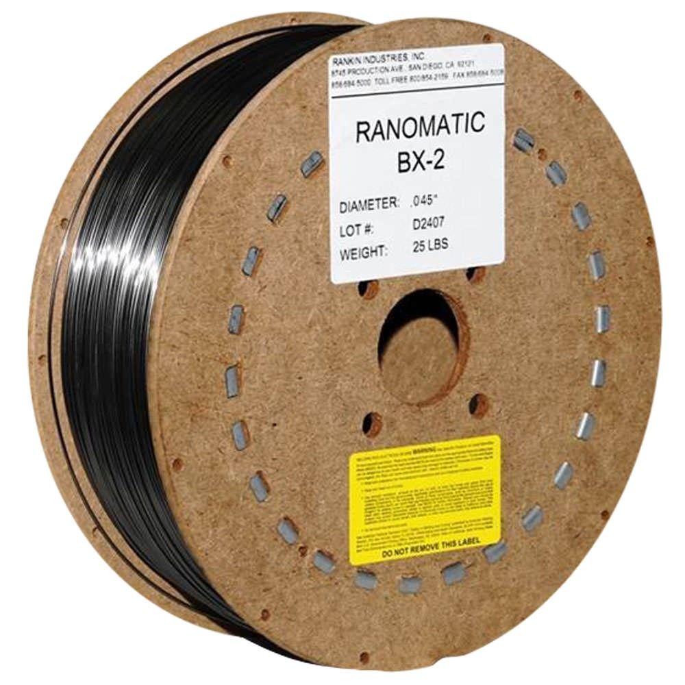 Rankin Ranomatic BX-2 Hardfacing Wire .045 Inch Spool WBX2-045M-25