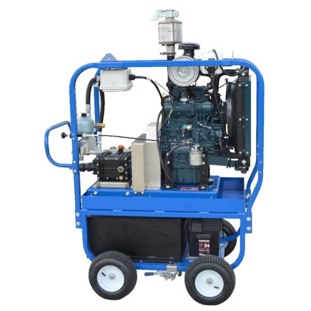 4 Wheel Diesel : Cavidyne caviblaster four wheel cart mount diesel engine