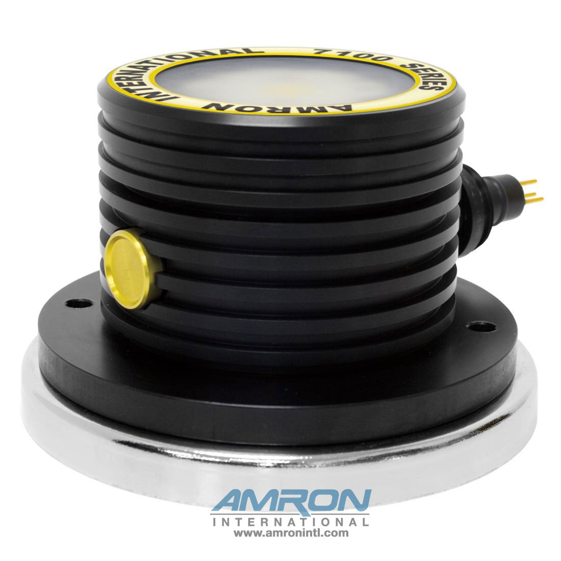 Amron International 7100 LED Hyperbaric Chamber Light with Frosted Lens and Magnetic Base