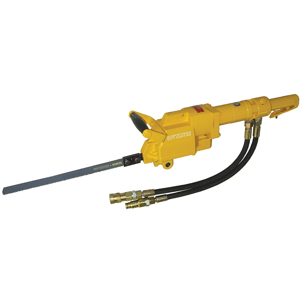 CS Unitec / Spitznas Tools 5-1220-0050 Hydraulic Portable Power Hacksaw  with Lever Throttle - 1/2 in FF (HTMA) Couplings