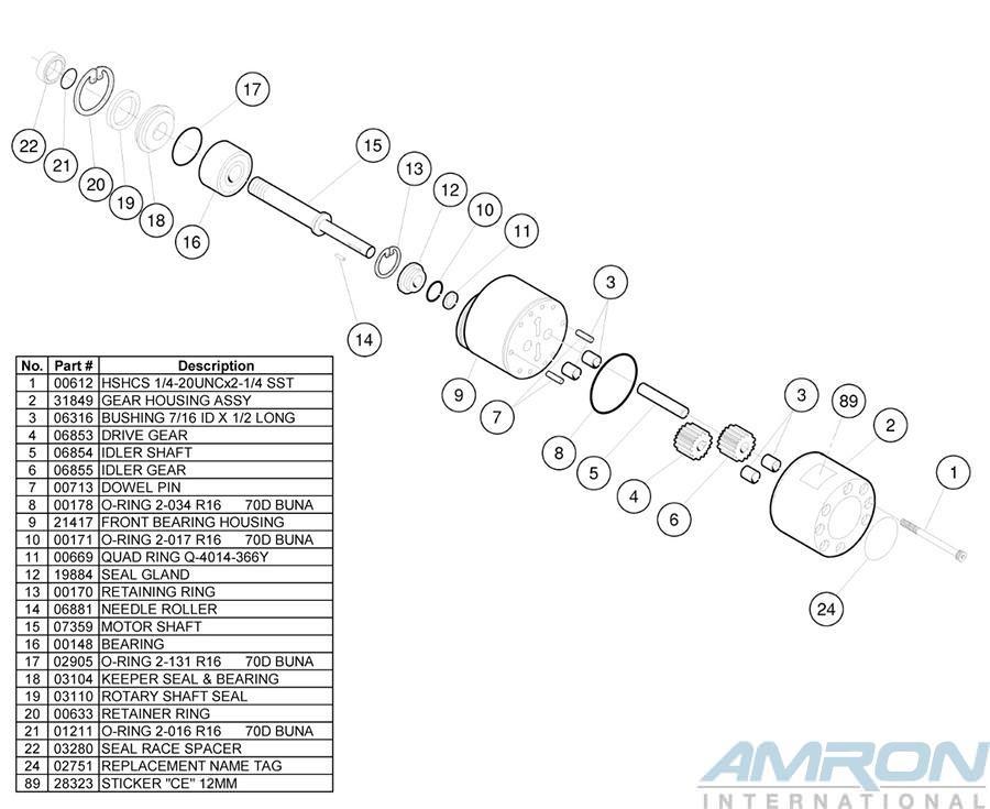 Stanley Hydraulic Underwater Chainshaw CS11 - CS113NO