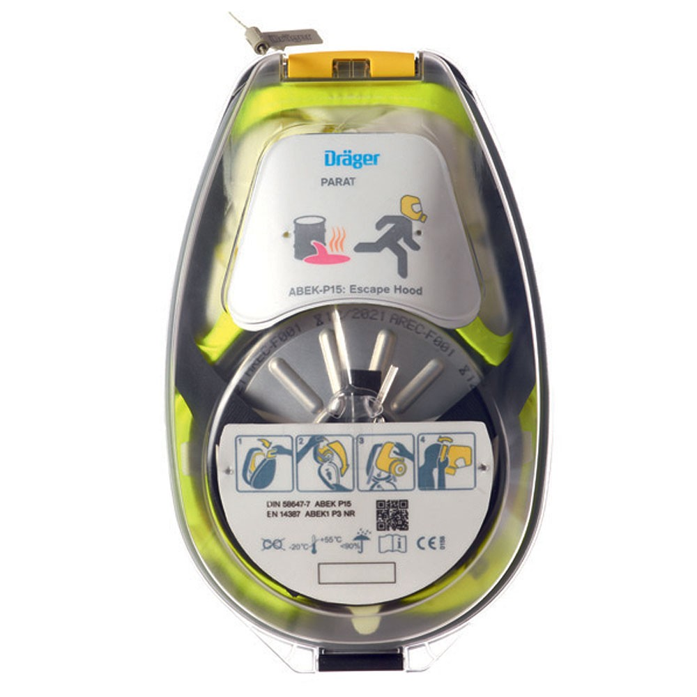 Draeger R59435 PARAT® 5530 Fire Escape Hood with Hard Case