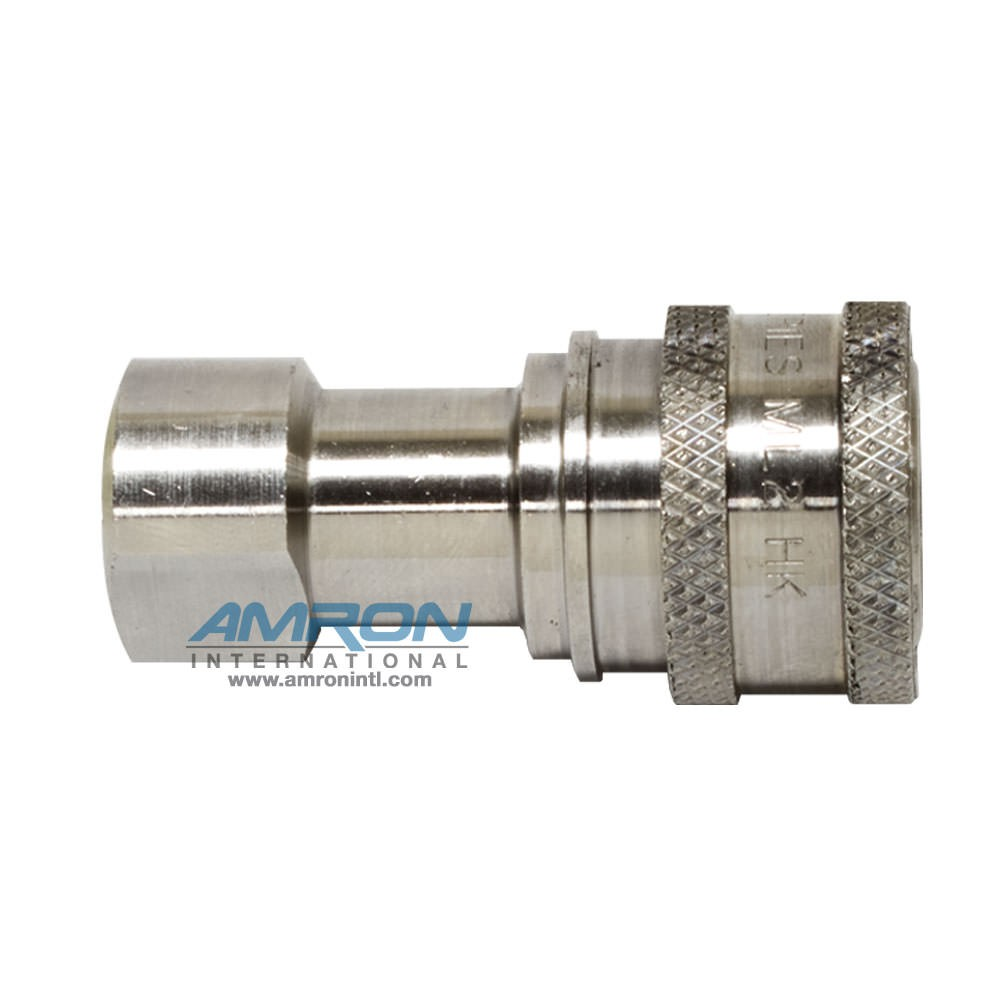 Hansen 2-HK SRS Socket 2-Way 1/4 in. FNPT in Stainless Steel