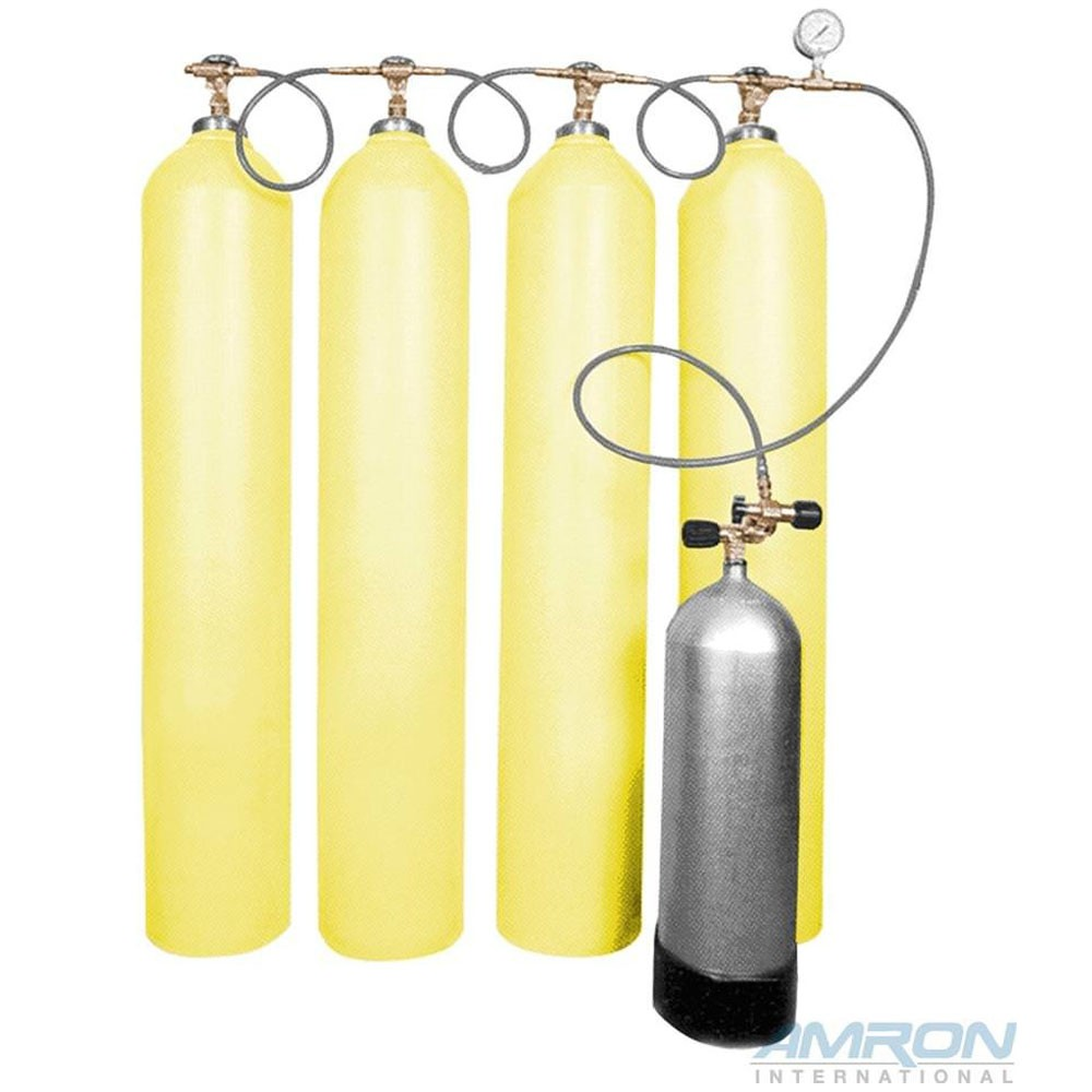 Cascade Systems High Pressure Cascade Air Storage System (Photo is representation of product. Actual bottle count for this product is 6 bottles.)