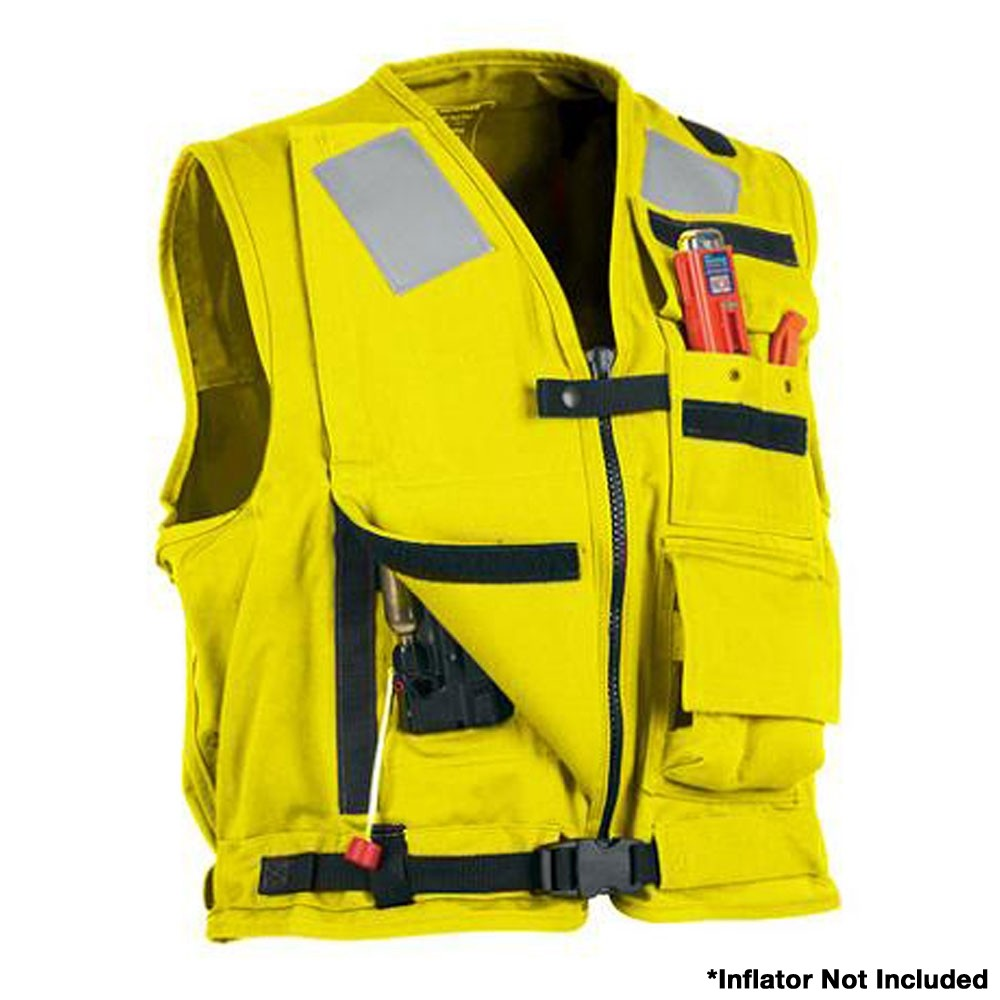 Stearns U.S. Navy MK1 Inflatable Vest - Yellow