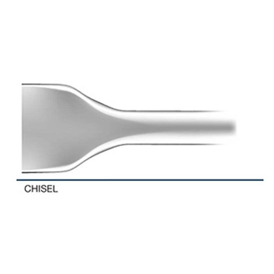 Stanley Hydraulic Underwater Chisel Bit for Chipping Hammer CH18