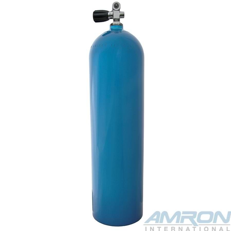 Aluminum Dive Tanks - Blue with K-Valve - 80 cu ft. A080-BLU