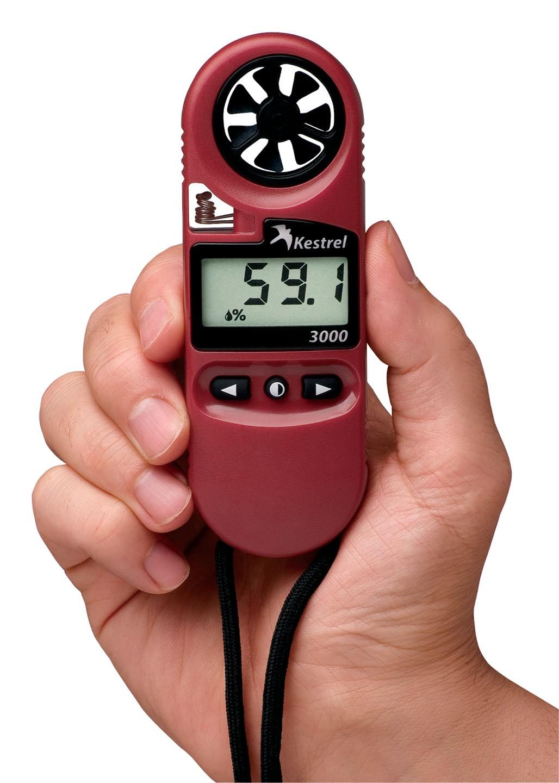 Kestrel 3000 Pocket Wind Meter Red NEK-0830