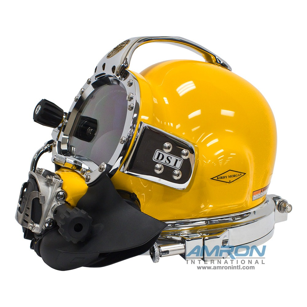 SuperLite® 27 Commercial Diving Helmet with Posts and 455 Regulator 500-040-455