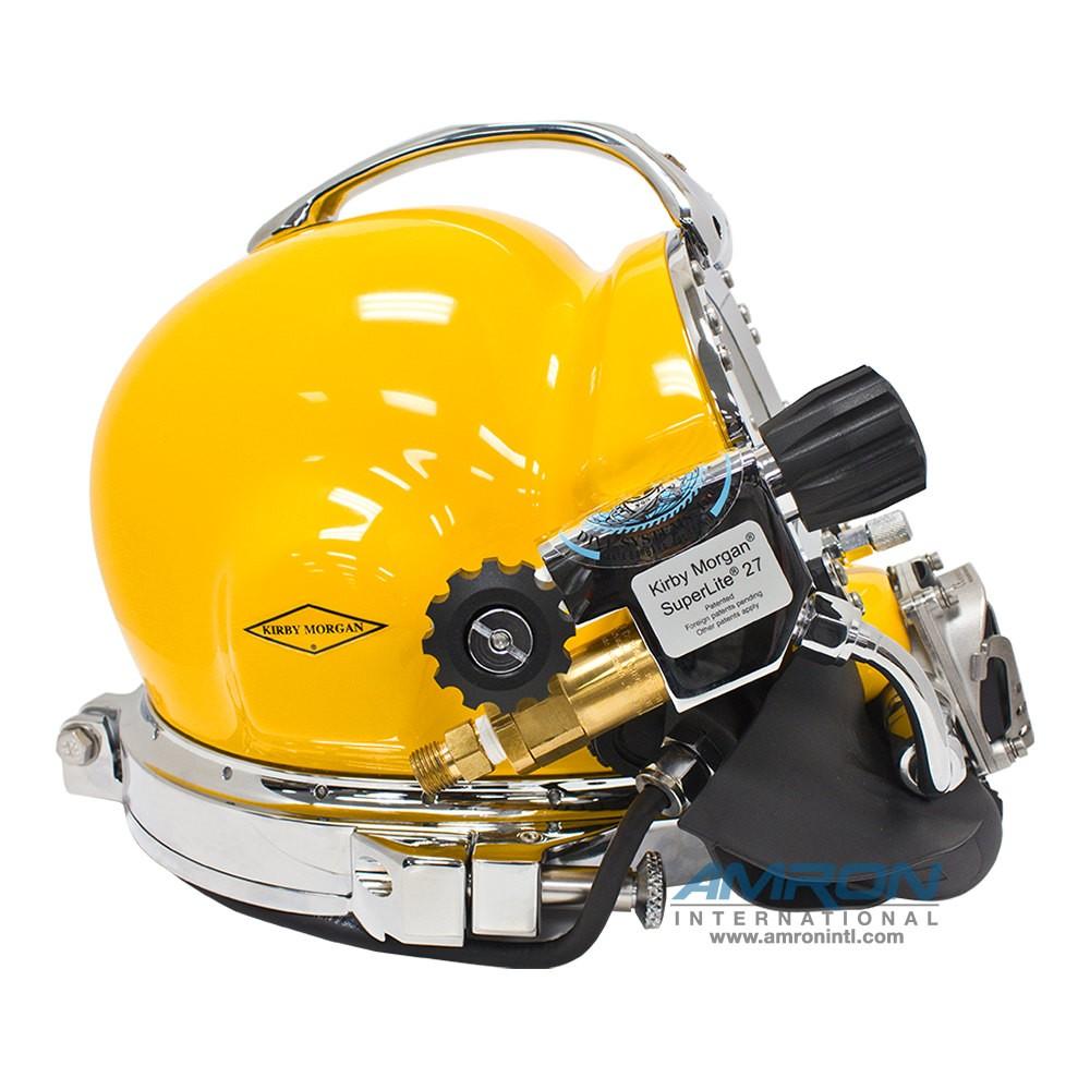Kirby Morgan SuperLite® 27 Commercial Diving Helmet with Male Waterproof Connector 500-041-455