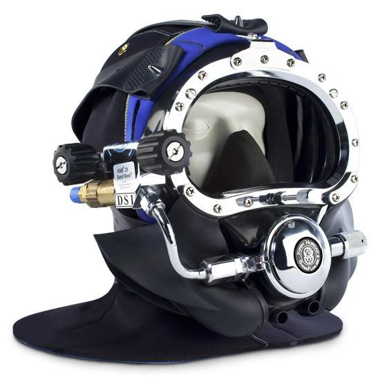 Kirby Morgan BandMask 28 with Male Waterproof Connector