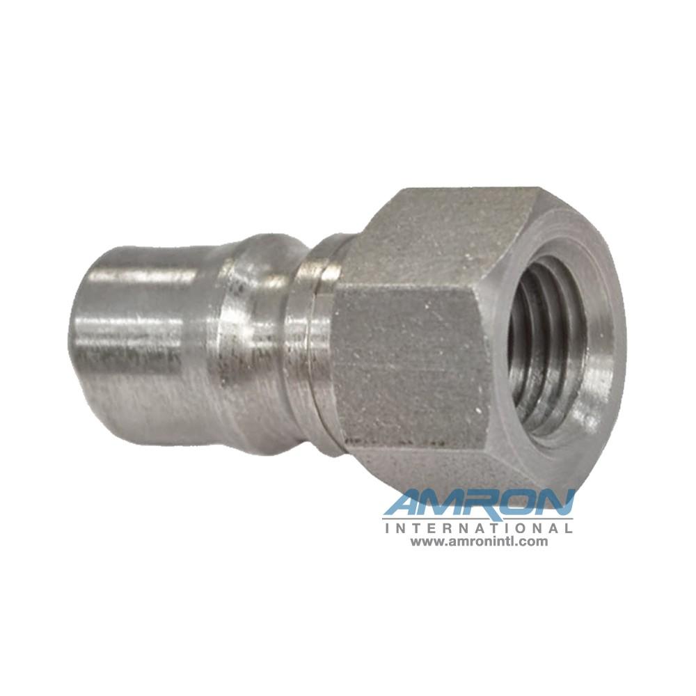 Hansen Two-Way Socket LL2-K16 - 2-HK 1/4 in. FNPT Plug in Stainless Steel (303)