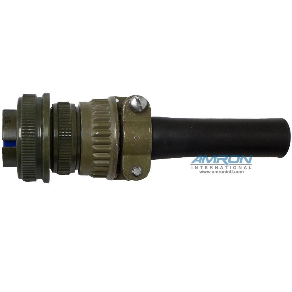 MS-3102A-16S-1P Bulkhead Connector 7-Pin Male