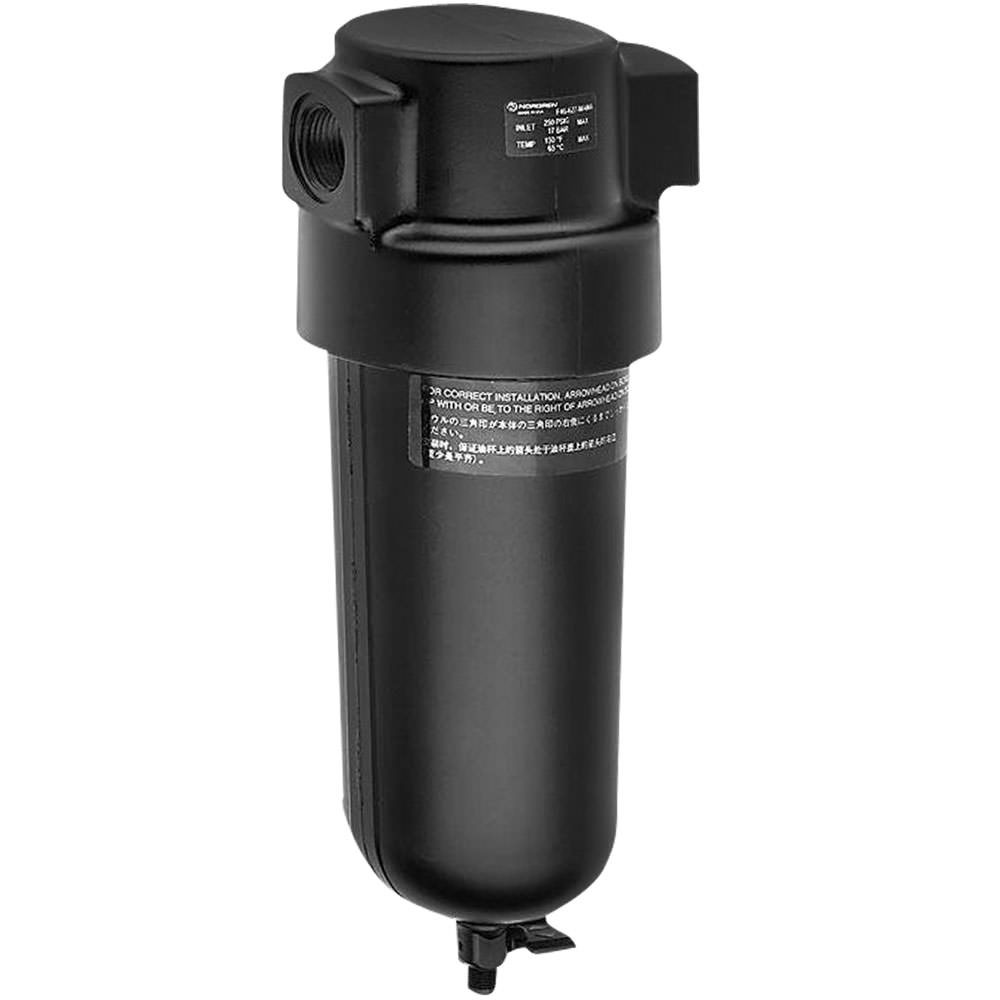 Norgren F46 Oil Vapor Removal Filter - 3/4 in. Port size - Standard Bowl F46-624-MAMA