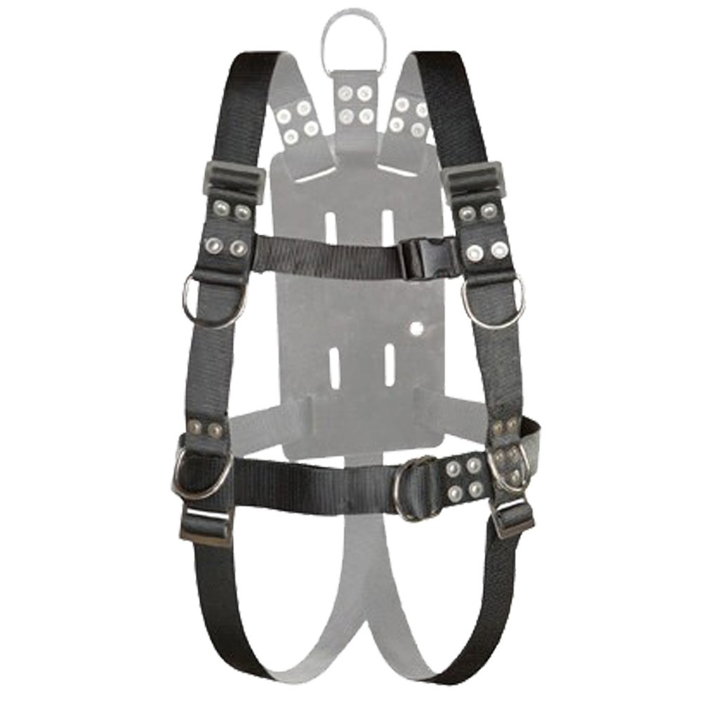 Atlantic Diving Equipment NSBB-16510 Full Body Harness with Shoulder Adjusters - Small