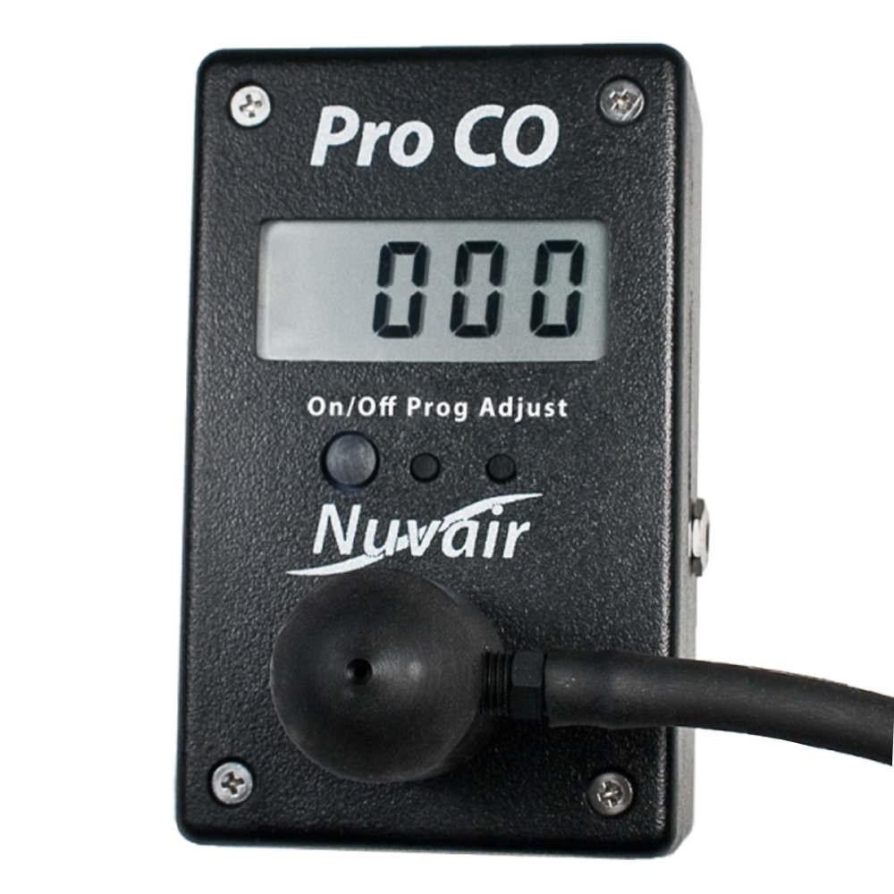Nuvair Pro Carbon Monoxide CO Alarm Analyzer NUV-9625