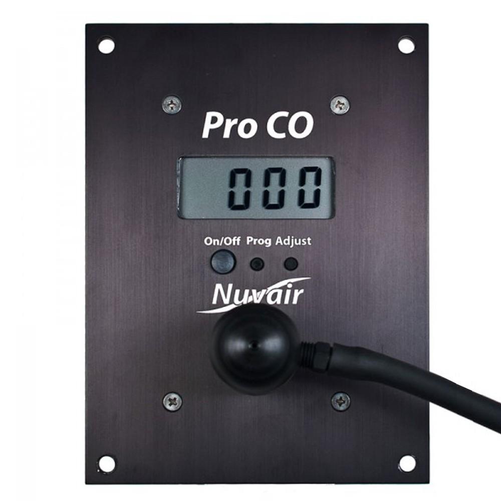 Nuvair Pro Carbon Monoxide CO Alarm Analyzer Panel Mount NUV-9624