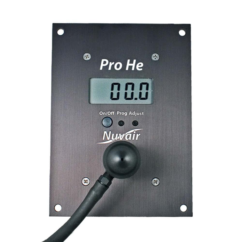 Nuvair Pro Helium He Alarm Analyzer Panel Mount NUV-9628-E