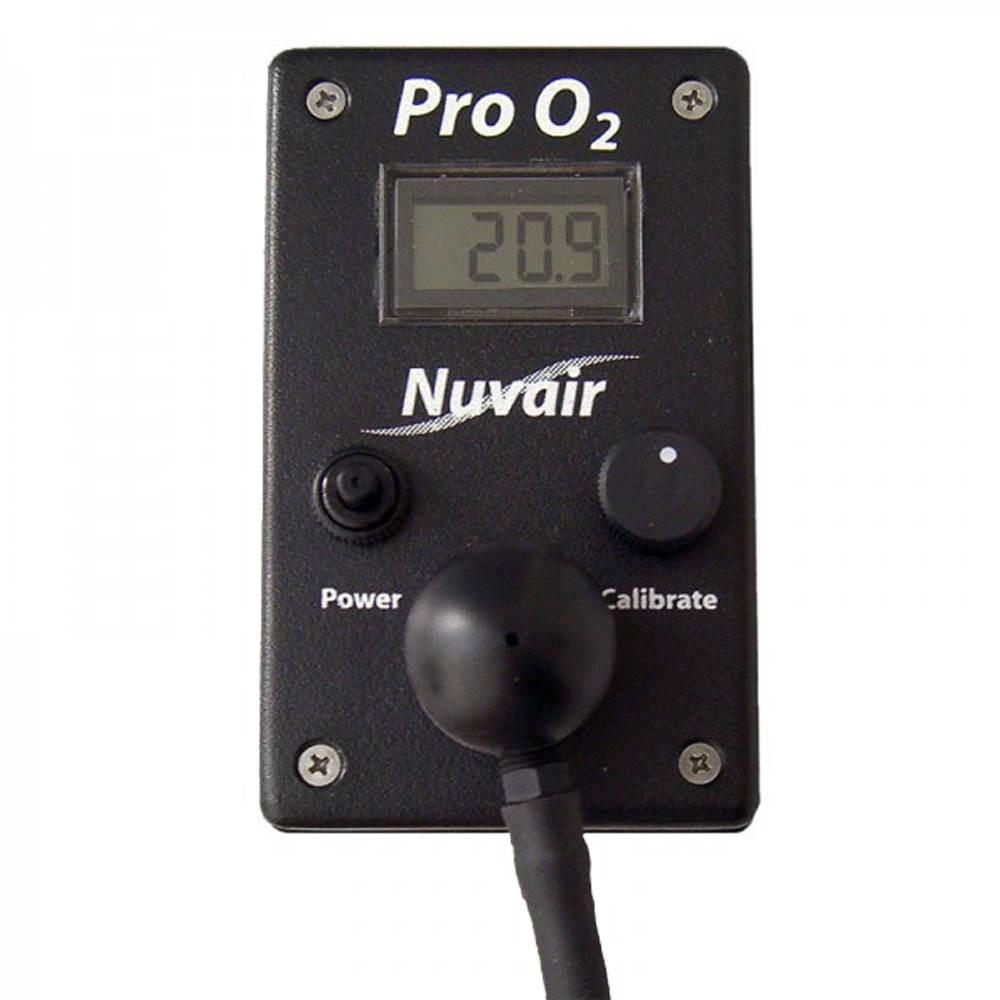 Nuvair Pro Oxygen O2 Analyzer NUV-9450