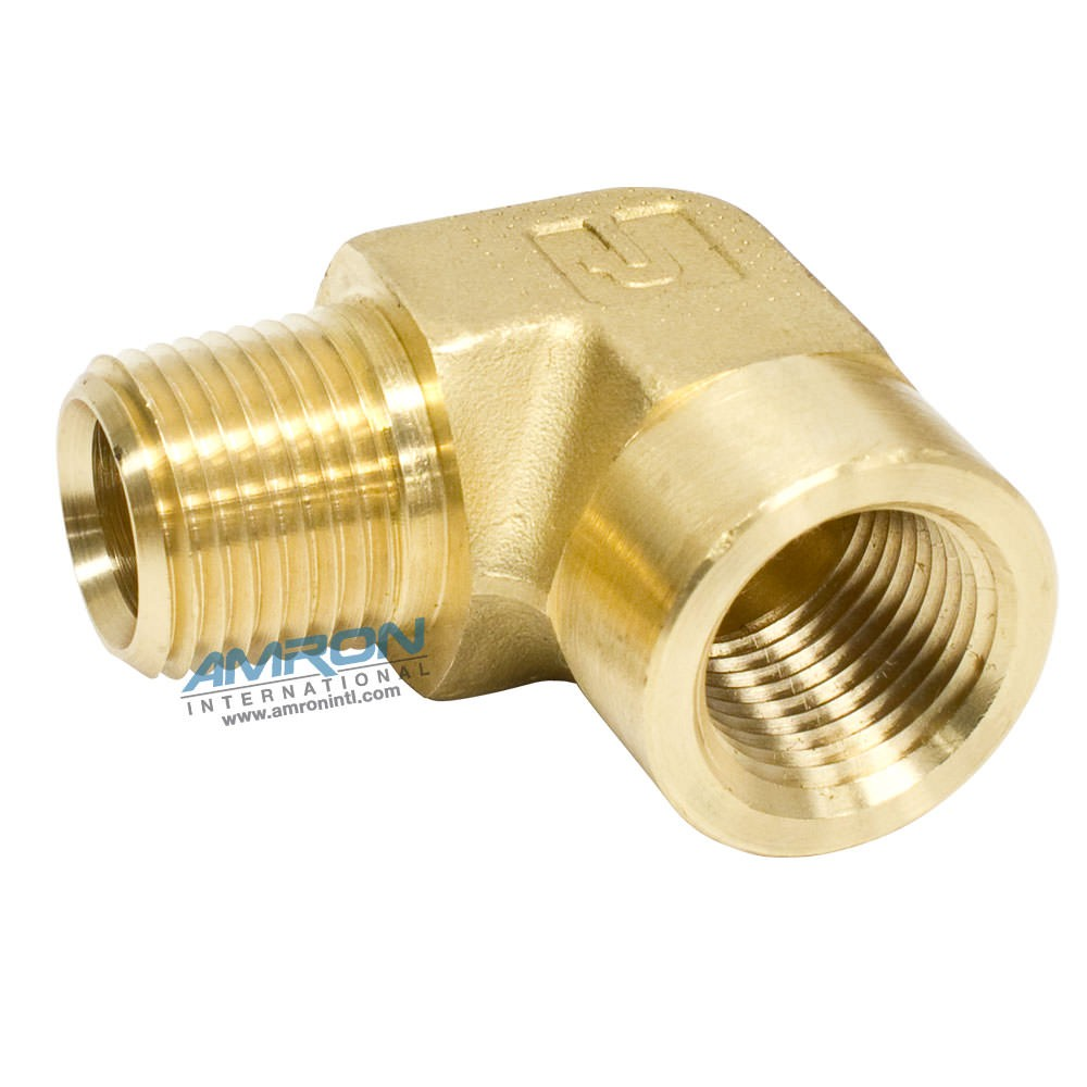 Parker CD Female Street Elbow 1/2 inch NPT Brass CD-B-1/2