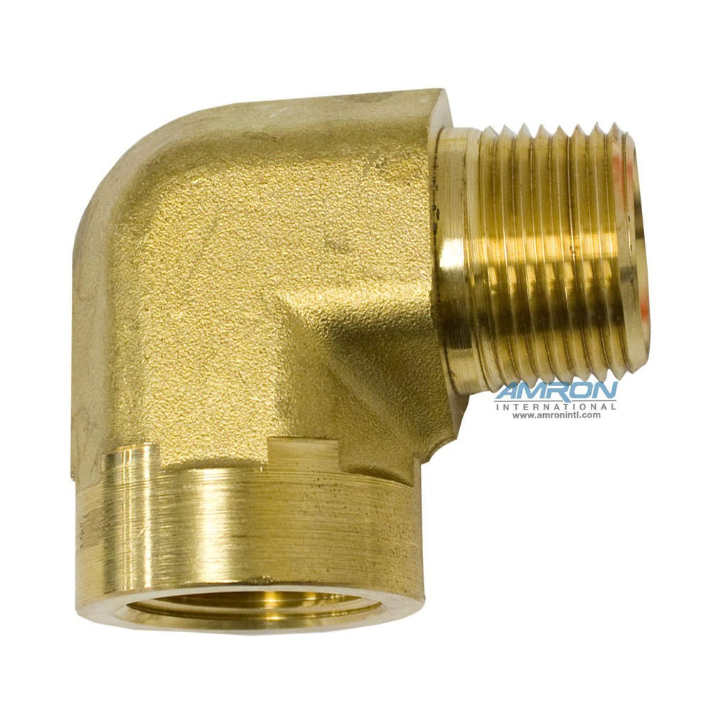 Parker CD Female Street Elbow 3/4 inch NPT Brass CD-B-3/4