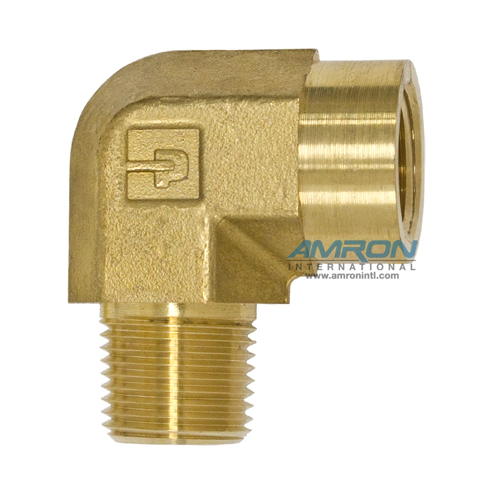 Parker CD Female Street Elbow 3/8 inch NPT Brass CD-B-3/8