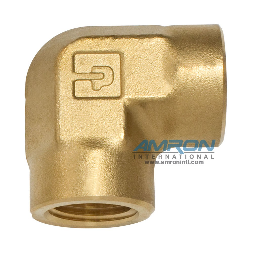Parker DD Female Pipe Elbow 1/4 inch NPT - Brass -  DD-B-1/4