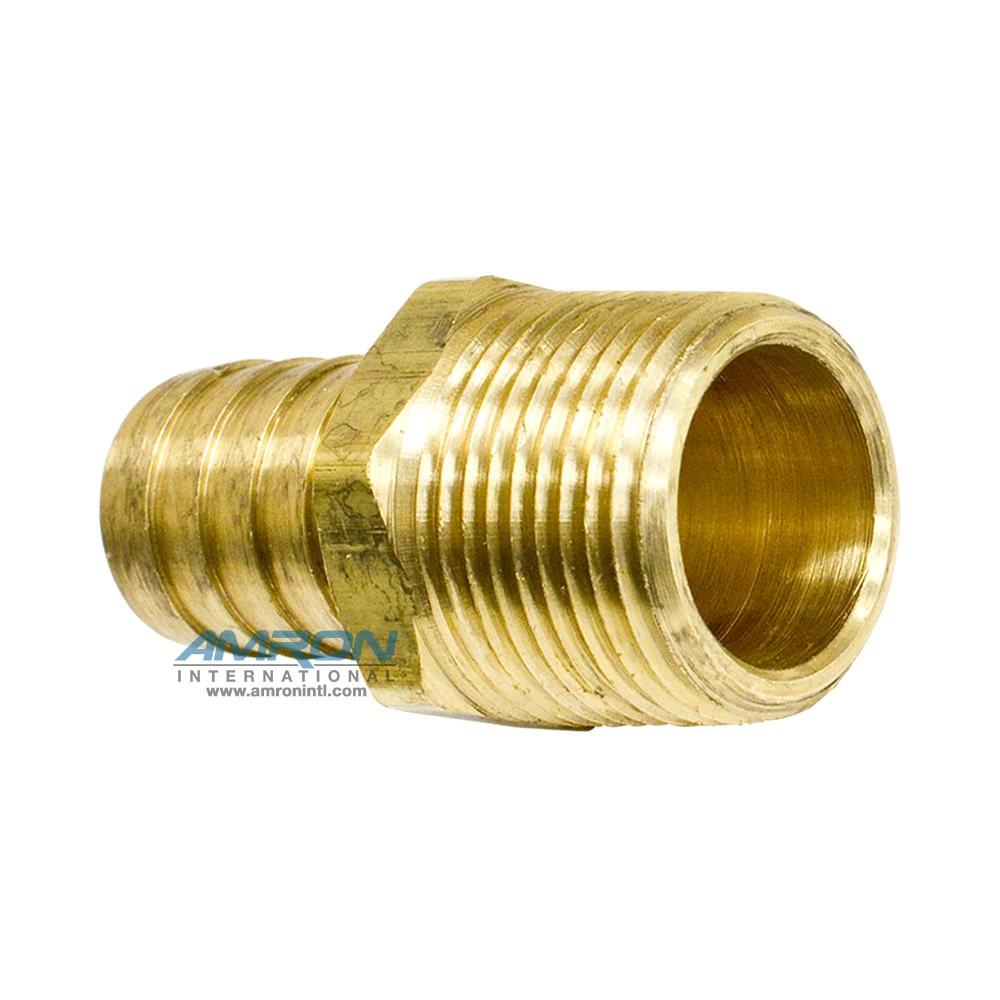 Parker hose barb to mnpt male pipe brass hbl