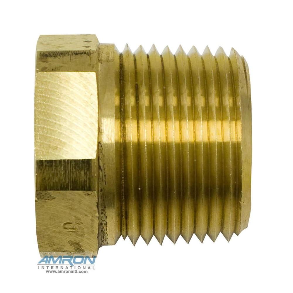 Parker PTR Pipe Thread Reducer 1 x 3/4 inch – Brass - PTR-B-1X3/4