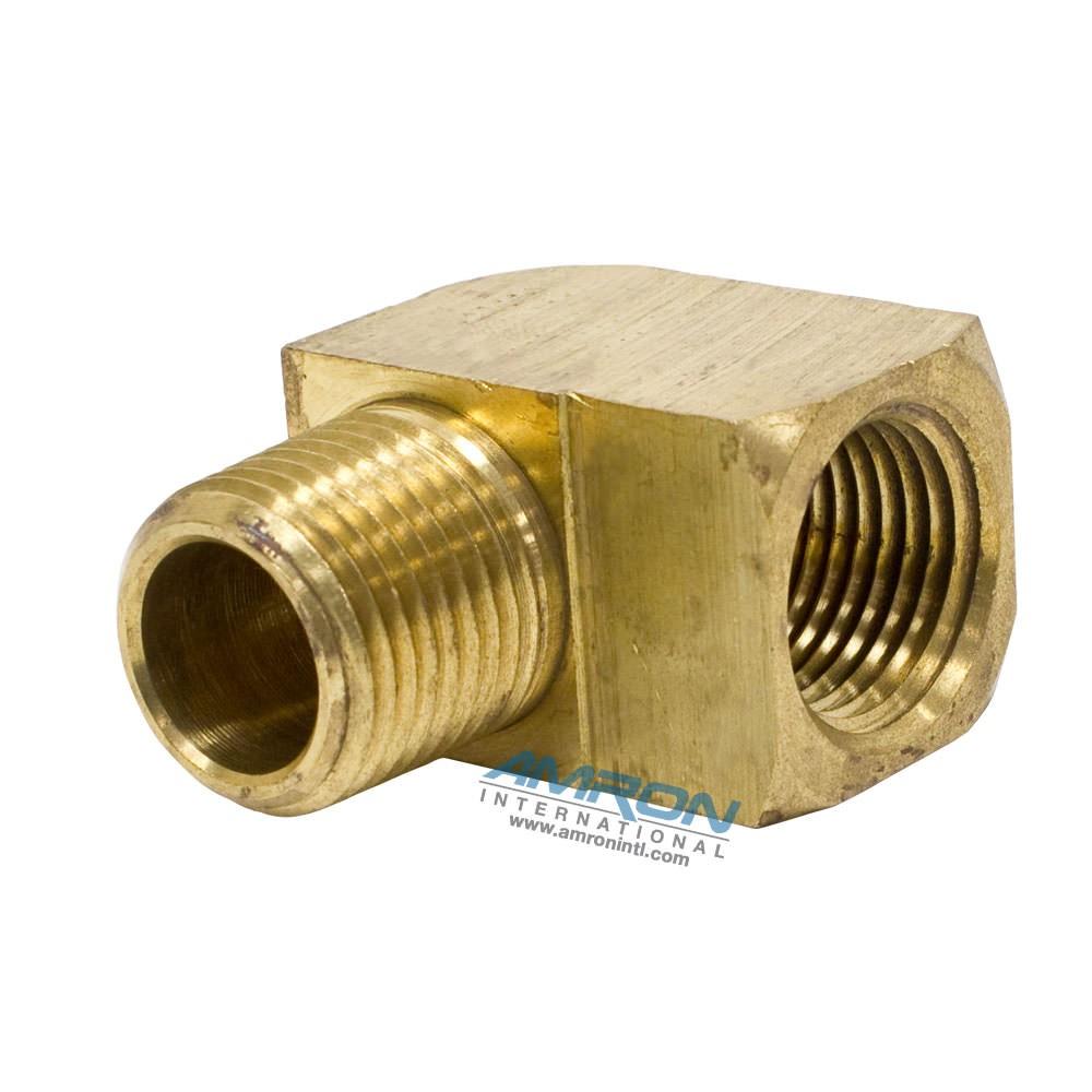 Parker street elbow degree inch npt brass p