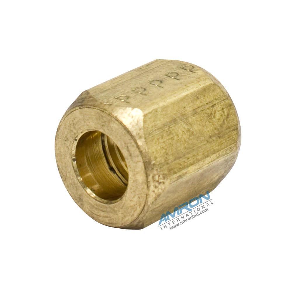 Parker Triple-Lok® Brass JIC Nut with 7-16-20 Thread BTX-B-4