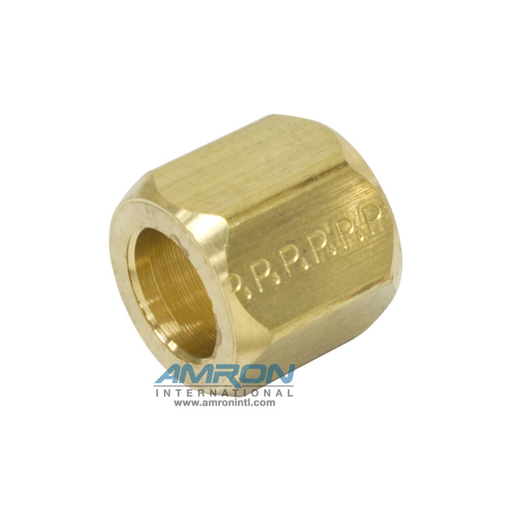 Parker Triplelok BTX Nut 37° Flare 1/2 in. JIC with 3/4-16 UN/UNF-2B Thread BTX-B-8
