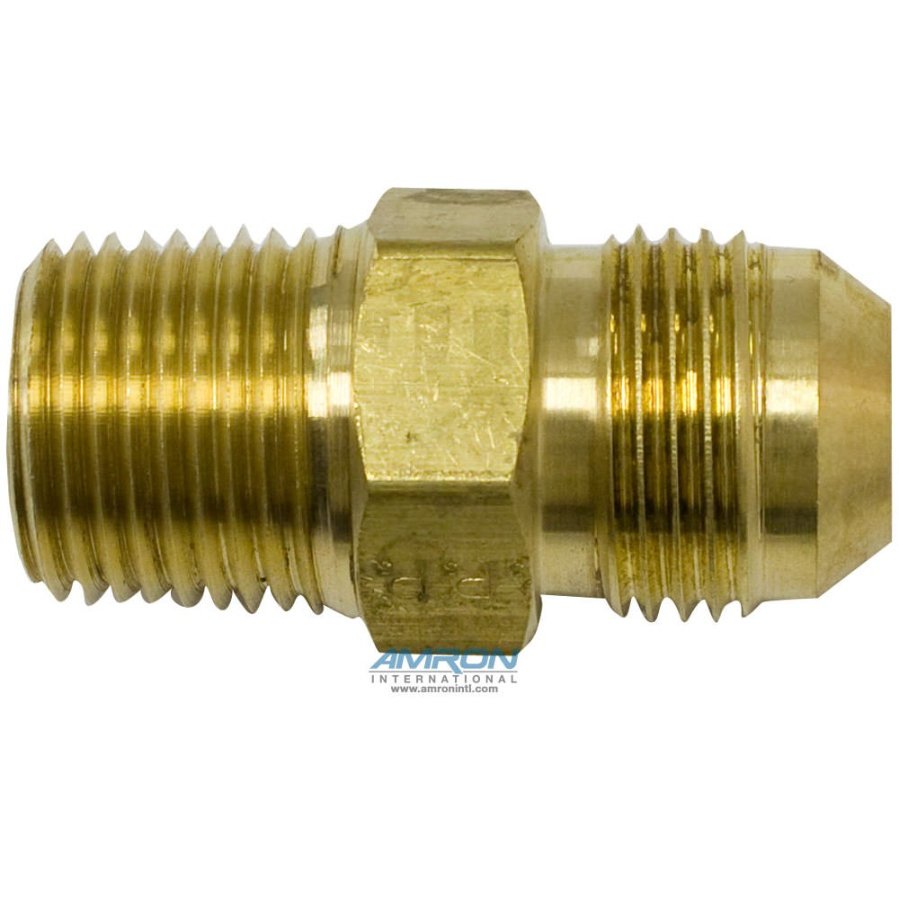 Parker Triple-Lok® FTX Male Connector 5/8 in. JIC and 1/2-14 NPT Brass - FTX-B-10