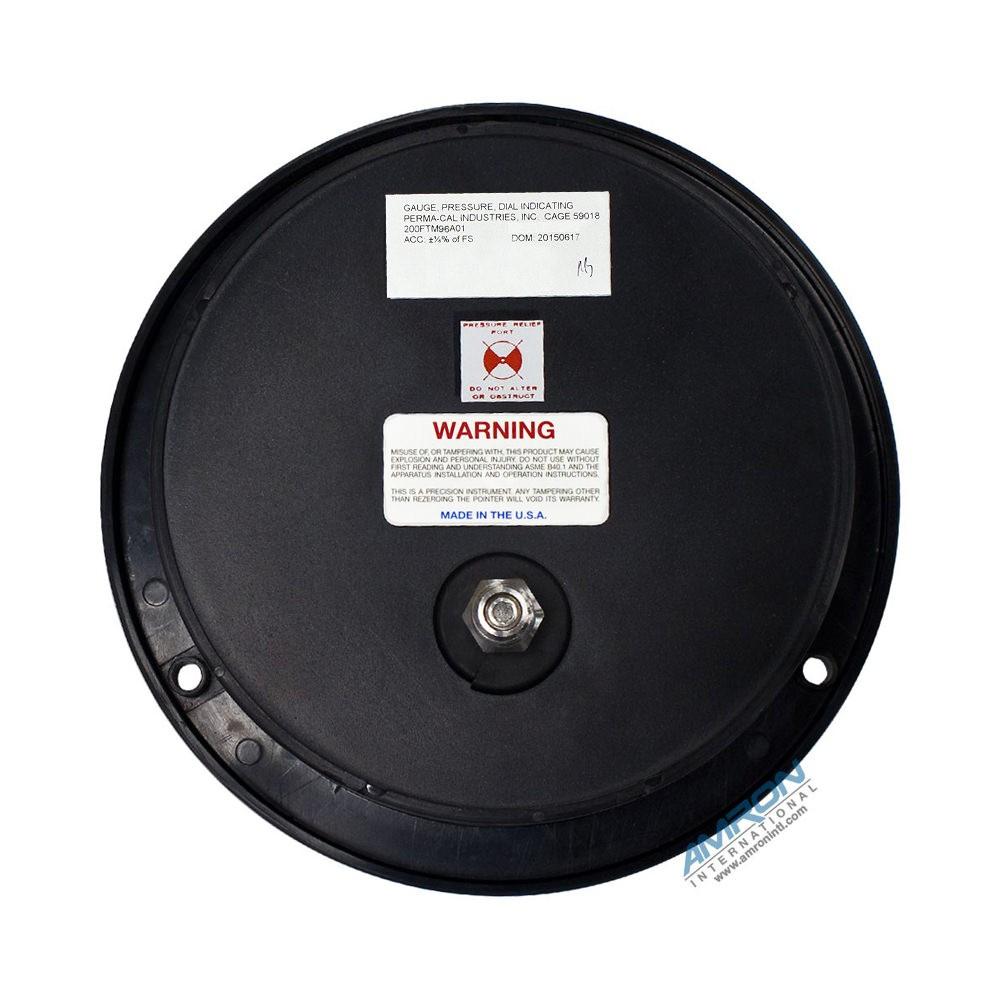 Perma-Cal 6 Inch Pneumo Depth Gauge 200FTM96A01