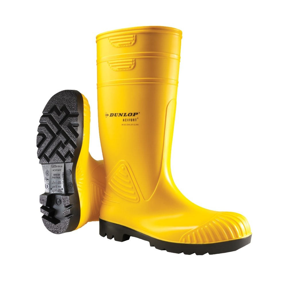 AlphaTec PVC Safety Boots - Certified