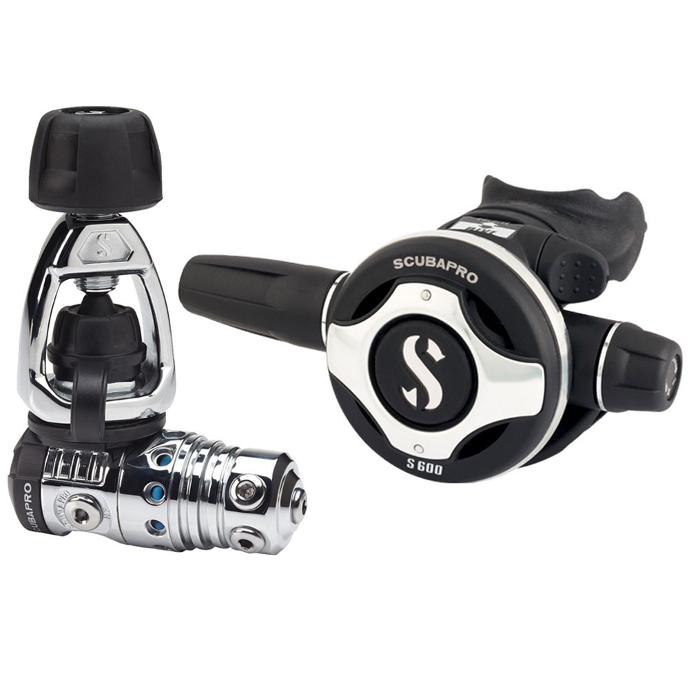 SCUBAPRO MK25 EVO/S600 Regulator System 1st and 2nd Stage 12.971.050
