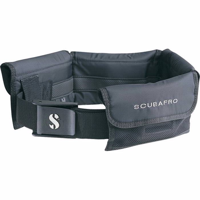 SCUBAPRO Weight Pocket Belt (Please Note: Number of pockets will vary depending on size of weight belt purchased)
